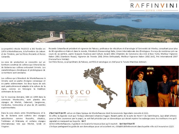 FALESCO Presentation